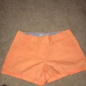 "J.Crew 2"" shorts"